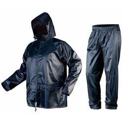 Komplet przeciwdeszczowy kurtka z kapturem i spodnie rozmiar XXXL 81-800-XXXL
