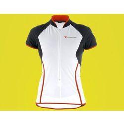 DS3895799SMP Koszulka damska Dainese fast lane T-shirt biało-czarno-czerwona S
