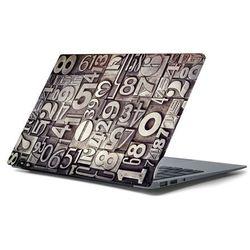 Naklejka na laptopa - Czcionki 4395