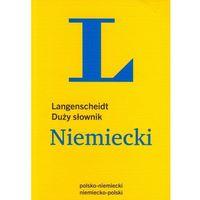 Książki do nauki języka, Duży słownik polsko-niemiecki, niemiecko-polski (rok 2014) (opr. miękka)