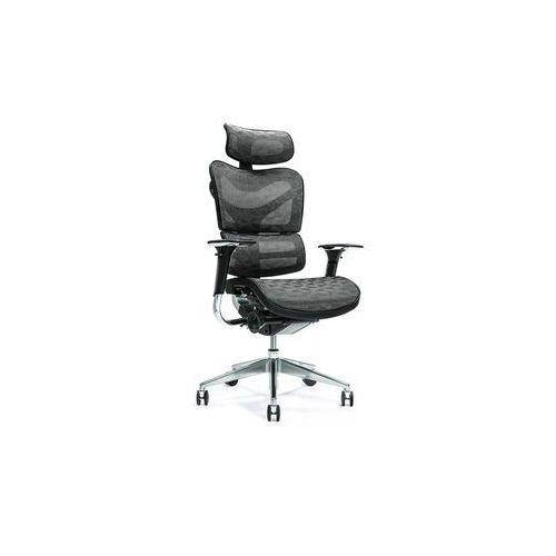 Fotele i krzesła biurowe, Ergonomiczny fotel biurowy ERGO 700 czarny