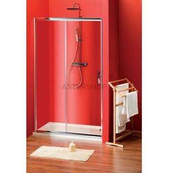 SIGMA drzwi prysznicowe do wnęki 110cm szkło matowe BRICK SG3261
