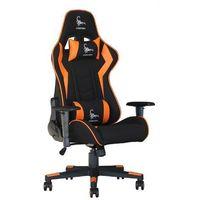Fotele dla graczy, Fotel dla gracza Gembird Scorpion (czarno-pomarańczowy)