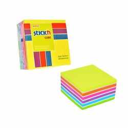 Notes samoprzylepny 76x76mm mix 400 kartek - STICK'N OD 24,99zł DARMOWA DOSTAWA KIOSK RUCHU