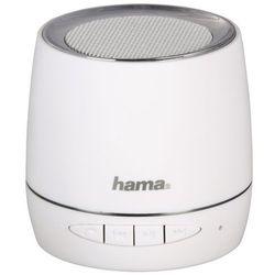 Głośnik mobilny HAMA Sphere Biały
