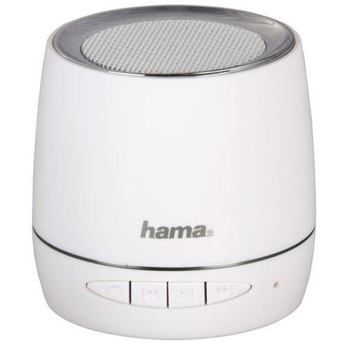 Stacje dokujące do odtwarzaczy, Głośnik mobilny HAMA Sphere Biały