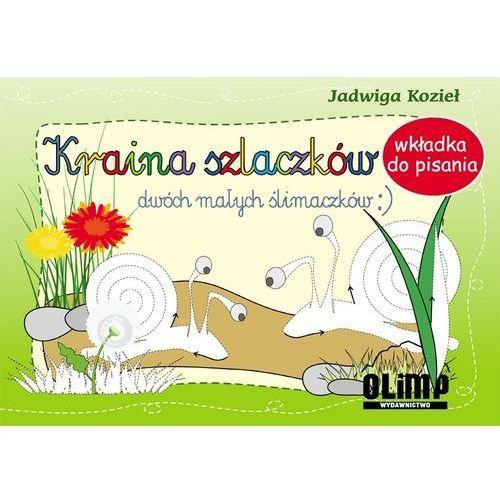 Książki dla dzieci, Kraina szlaczków dwóch małych ślimaczków (opr. broszurowa)