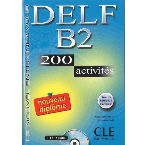 Książki do nauki języka, Delf B2 200 activities (opr. miękka)