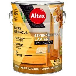 Lakier szybkoschnący Altax bezbarwny połysk 5 l