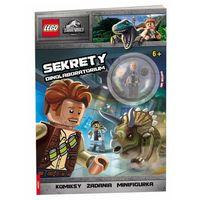 Książki dla dzieci, Lego jurassic world. sekrety dinolaboratorium (opr. miękka)