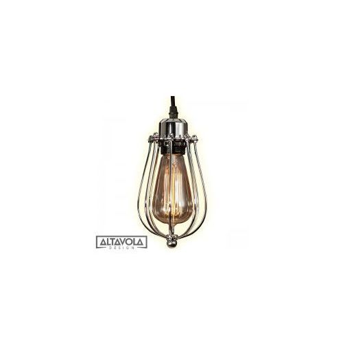 Lampy sufitowe, Lampa Kopenhagen Loft Chrom