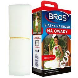 Moskitiera na drzwi Bros biała 140x220cm