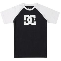 koszulka DC - Dc Star Raglan Ss Boy Black/Black/White (XKKW) rozmiar: 12/M