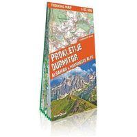 Przewodniki turystyczne, Alpy Albani i Czarnogóry Durmitor i Prokletije 1:65 000 - 35% rabatu na drugą książkę!