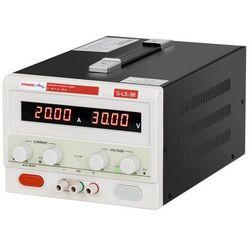 Zasilacz laboratoryjny - 0-30 V - 0-20 A DC