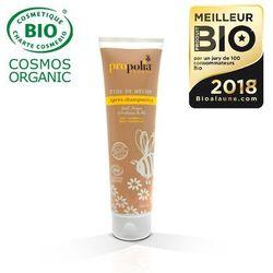 Organiczna odżywka do włosów z Miodem,Olejkiem Arganowym & Proteinami Pszenicy