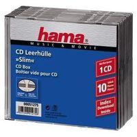 Pudełka i portfele na płyty, Pudełko CD-Slim Standard, 10 -pak