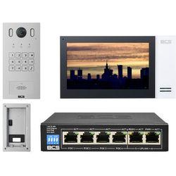 "Wideodomofon IP BCS-PAN1601S-S + Monitor 7"" BCS-MON7400W-S Podtynkowy"