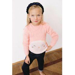 Sweter dziewczęcy - różowy 3C3907 Oferta ważna tylko do 2031-10-18
