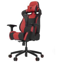 Vertagear S-Line SL4000 Racing Series Krzesło gamingowe - Czarno-czerwony - Skóra PU - 150 kg