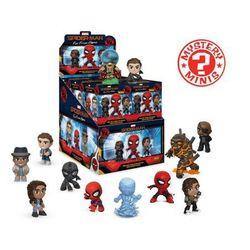 Brelok Funko Mystery Minis w ciemno - Mystery Minis Spider-Man: Daleko od domu