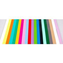 Taśmy magnetyczne do tablic projektowych, 600x15 mm, zestaw I, mix kolorów, 20 szt