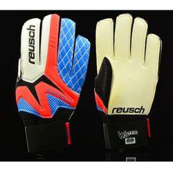 Rękawice bramkarskie Reusch Waorani SG junior Model: 34 72 870 345