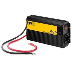 MSW Przetwornica samochodowa - 600 1200W MSW-CPI-600PS - 3 LATA GWARANCJI