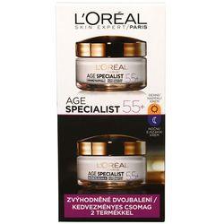 L'Oréal Ustaw dzień i noc krem zmarszczek Specjalista Wiek 55+ 2 x 50 ml