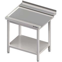 Stół wyładowczy lewy z półką do zmywarki kapturowej Silanos 900x740x880 mm | STALGAST, 982457090