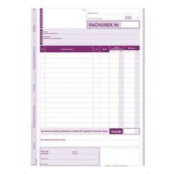 Rachunek dla zwolnionych Z VAT A5 pion (O+1K) MICHALCZYK I PROKOP - G0328