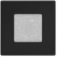 Akcesoria do kominków, Kratka kominkowa czarna 11x11