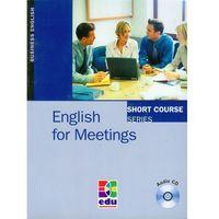 Książki do nauki języka, English for Meetings SB+CD (opr. miękka)