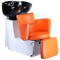 Myjnia fryzjerska LUIGI BR-3542 pomarańczowa