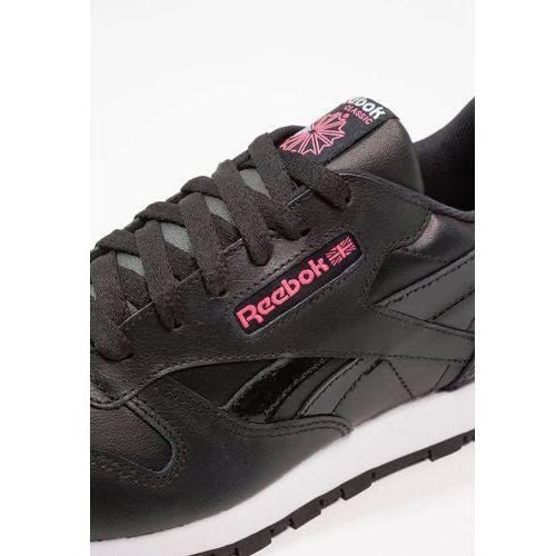 Buty sportowe dla dzieci, Reebok Classic GIRL SQUAD Tenisówki i Trampki black/acid pink/white