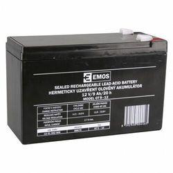 Akumulator ołowiowe AGM 12V 9Ah F6,3 B9675