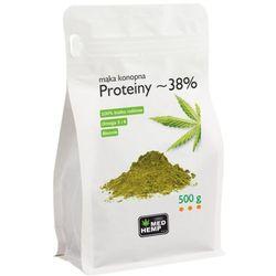 Med Hemp - Mąka konopna - Proteiny 500g
