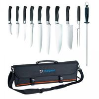 Pozostała gastronomia, Zestaw noży kutych Elite w pokrowcu STALGAST 200006 200006