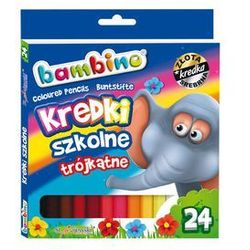 Kredki 24 kolory Bambino