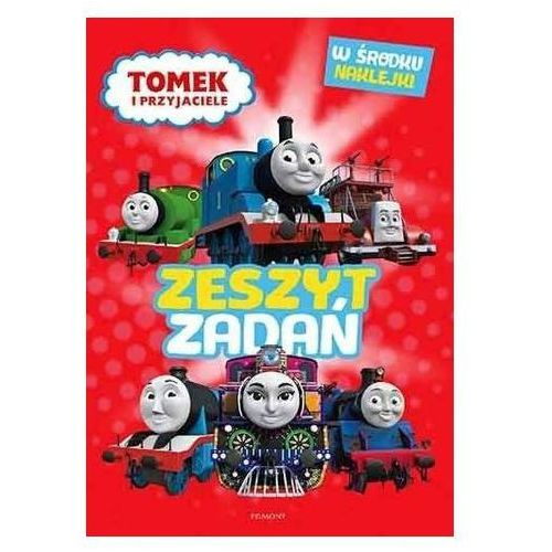 Książki dla dzieci, Tomek i przyjaciele. Zeszyt zadań (opr. broszurowa)
