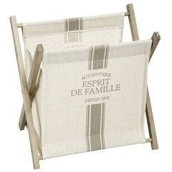 Gazetnik drewniany na prasę, pojemnik na gazety, kosz na gazety, stojak na czasopisma, pojemnik na pisma, akcesoria dla domu