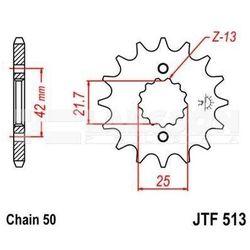 Zębatka przednia JT F513-14, 14Z, rozmiar 530 2201545 Yamaha FZS 600, Suzuki GSX 1300