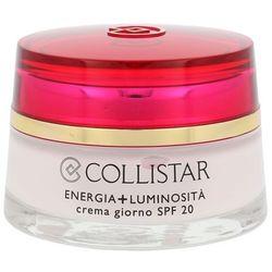 COLLISTAR Energy+Brightness Day Cream SPF20 kosmetyki damskie - krem przeciwzmarszczkowy na dzień 50ml