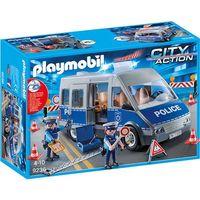 Klocki dla dzieci, Playmobil CITY ACTION Bus policyjny 9236