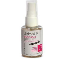 Spray LibidoUp Potęgujący Doznania i Orgazm 50ml | 100% ORYGINAŁ| DYSKRETNA PRZESYŁKA