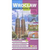 Mapy i atlasy turystyczne, Plan kieszonkowy rys.-Wrocław w.francuska 1:16 500 - Praca zbiorowa (opr. broszurowa)