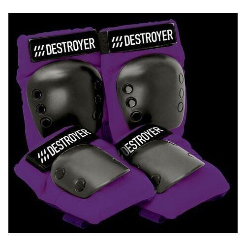 Ochraniacze na ciało, ochraniacze DESTROYER - Rec Grom Purple (PRP) rozmiar: OS
