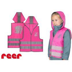 Kamizelka odblaskowa, XS, dla dzieci 2 lata+, REER - różowy