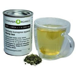 Herbata konopna z kwiatostanów konopi (50 gram)
