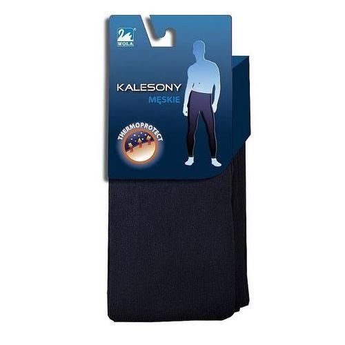 Kalesony, Kalesony Wola Męskie W 98003 170-188 176-182, szary/graphite, Wola